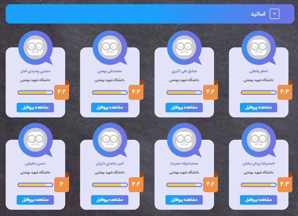 نقد دانشگاه شهید بهشتی